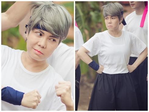 Danh hài Việt Hương lần đầu tiên vào vai đồng tính nữ trên màn ảnh