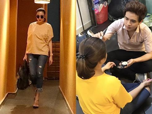 Facebook 24h: Tăng Thanh Hà tự nhủ 'đôi khi phải đi một mình' - Hồ Quang Hiếu làm đẹp cho quý bà