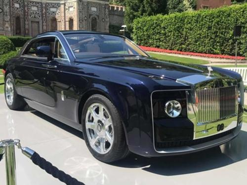 Chi tiết Rolls-Royce Sweptail giá 13 triệu USD