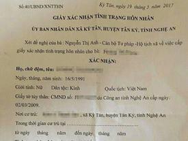 Xôn xao giấy xác nhận cho 'chú rể' 8 tuổi lấy cô dâu 26 tuổi