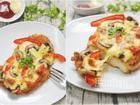 Pizza làm từ 100% thịt gà siêu ngon cho bé nhân ngày 1/6