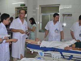 Quảng Ninh: Thang máy rơi trong đêm, 7 người bị thương