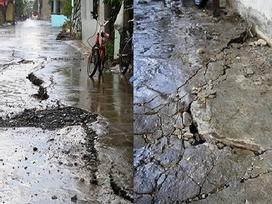 Tin hot trong ngày: Dân Sài Gòn thấp thỏm khi mặt đường nứt toác 40 mét