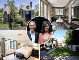 Choáng ngợp với dinh thự mới 8,1 triệu USD của vợ chồng cựu Tổng thống Mỹ Obama