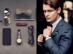 Những cách phối phụ kiện đồng hồ với trang phục khiến các anh mê tít