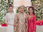 Lễ ăn hỏi ngập tràn sắc hoa của anh trai Bảo Thy cùng hot girl Trang Pilla