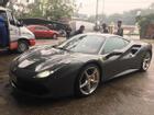 Cường 'Đô La' tậu thêm siêu xe Ferrari 488 GTB màu xám