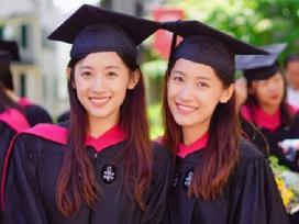 Cặp chị em song sinh xinh đẹp tốt nghiệp Đại học Harvard