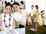 Tiệc trước đám cưới của An Dĩ Hiên tuyệt đẹp với sắc hoa vàng trắng