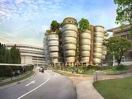 Thiết kế có 1 không 2 của đại học danh tiếng nhất Đông Nam Á