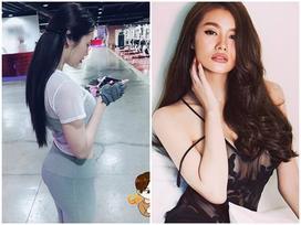 Facebook 24h: Vừa tập gym vừa chơi game, Linh Chi vẫn khoe được 3 vòng 'cong cớn'