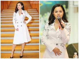 Xuất hiện một mình, Phạm Quỳnh Anh không muốn nhắc đến tin đồn ly hôn