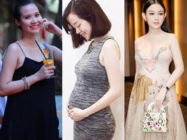 Những hot girl Việt đẹp phát hờn dù đang bụng bầu 'vượt mặt'
