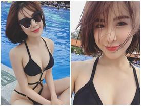 Facebook 24h: Diệp Lâm Anh bị lột trần chiêu trò photoshop khi đăng ảnh bikini