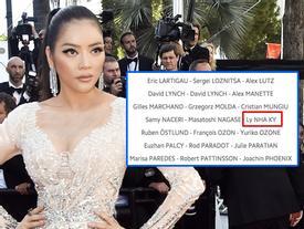 Một mình trên thảm đỏ Cannes, Vũ Ngọc Anh bị mang tiếng là kẻ trộm vé của Lý Nhã Kỳ