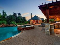 Bể bơi đẹp lung linh trong biệt thự của các sao Hollywood