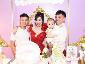 Minh Nhựa tổ chức sinh nhật hoành tráng cho con gái tròn 1 tuổi