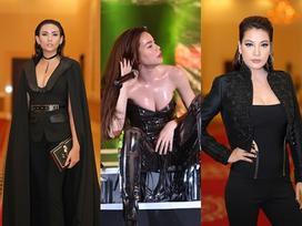 Hoàng Yến, Trương Ngọc Ánh gây shock với gương mặt trang điểm 'tiên hắc ám'