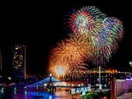 Những màn pháo hoa rực rỡ tại vòng loại lễ hội quốc tế Đà Nẵng