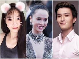 Vũ Ngọc Anh trộm vé của Lý Nhã Kỳ đứng đầu tin đồn nóng nhất showbiz Việt tuần qua