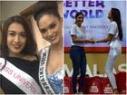 Lệ Hằng và Hoa hậu Hoàn vũ Pia tái hiện cảnh trao nhầm vương miện bi hài nhất lịch sử