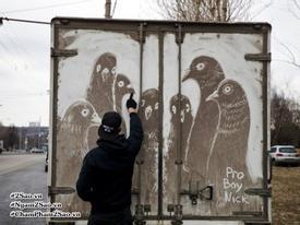 'Choáng' với những kiệt tác nghệ thuật được tạo nên từ bụi bẩn
