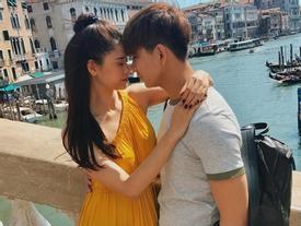 Bác tin đồn ly hôn, Trương Quỳnh Anh và Tim tình cảm dắt nhau du hí Châu Âu