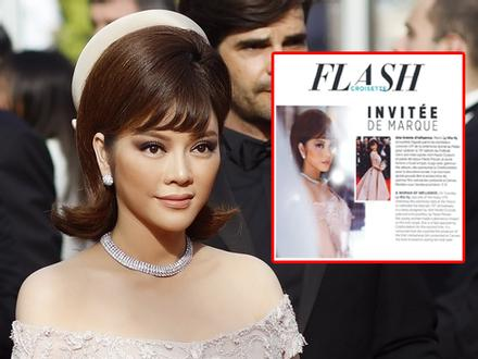 Lý Nhã Kỳ được ca ngợi là 'Người phụ nữ có sức ảnh hưởng' trên tạp chí Pháp
