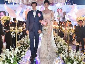 Người đẹp – đại gia và những đám cưới xa xỉ 'kẻ tám lạng người nửa cân' khiến ai cũng phải mắt tròn mắt dẹt
