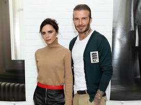 Nối bước vợ và con trai, David Beckham lại lấn sân sang thời trang với một BST cực kỳ tuyệt vời