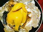 Muốn có món gà hấp muối ngon da vàng óng: Hãy làm theo cách này ngay!