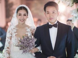Đám cưới xa hoa của mỹ nhân xinh đẹp nhất nhì Thái Lan