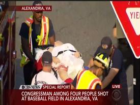 Xả súng ở sân bóng chày, lãnh đạo Hạ viện Mỹ trúng đạn