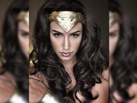 Chàng trai hóa trang Wonder Woman khiến bản gốc phải kinh ngạc