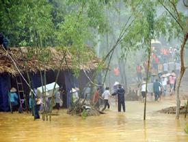 Đi xem diễn tập ứng phó lụt bão, 3 người bị thương khi mìn nổ