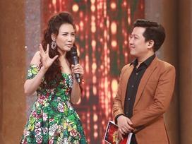 Hồ Quỳnh Hương khiến Trường Giang sững sờ vì giọng hát quá cao
