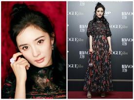 'Bà mẹ một con' Dương Mịch không có đối thủ trên thảm đỏ Vogue Film 2017