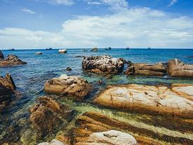 Hè về Cù Lao Câu bắt cua, ngắm biển xanh trong vắt