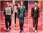 Sàn diễn Dolce&Gabbana thành 'Đại hội mỹ nam', nổi nhất là Mario Maurer và Vương Tuấn Khải!