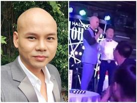 Clip: Phan Đinh Tùng đến trễ show mà còn tỏ thái độ trịch thượng với đàn em