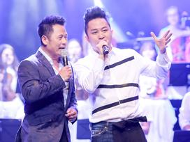 Bằng Kiều, Tùng Dương hào hứng hát 'Đội kèn tí hon' cùng dàn ca sĩ nhí