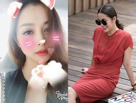 Tin sao Việt: Tăng Thanh Hà quyến rũ sắc đỏ - Jennifer Phạm hào hứng hẹn hò