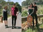 Hot girl - hot boy Việt: Ngọc Thảo hạnh phúc được bạn trai tháp tùng trên mọi nẻo đường