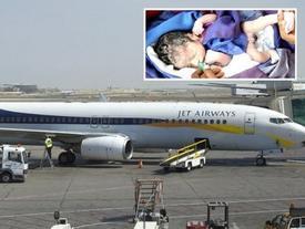 Chào đời trên máy bay, em bé được nhận vé bay miễn phí trọn đời