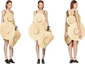 Chỉ ai thừa tiền mới bỏ ra 69 triệu đồng để mua chiếc váy được kết từ mũ cói