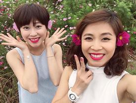 Ngỡ ngàng trước nhan sắc xinh đẹp của em gái MC Hoàng Linh
