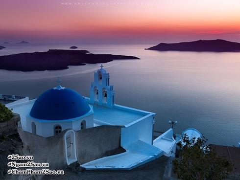 Kinh nghiệm du lịch: Ngắm hoàng hôn ở 'đảo thiên thần' Santorini