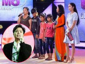 'Hát mãi ước mơ': Trịnh Thăng Bình xót xa hoàn cảnh của 3 đứa trẻ mồ côi