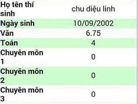 Hot girl Linh Ka bị 'lộ' kết quả thi vào lớp 10 với điểm số thấp