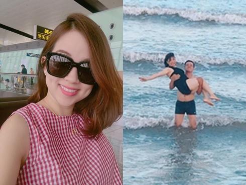 Hot girl - hot boy Việt: Ly Kute lại khiến fan thổn thức khi khoe 'cận' nhan sắc gái một con